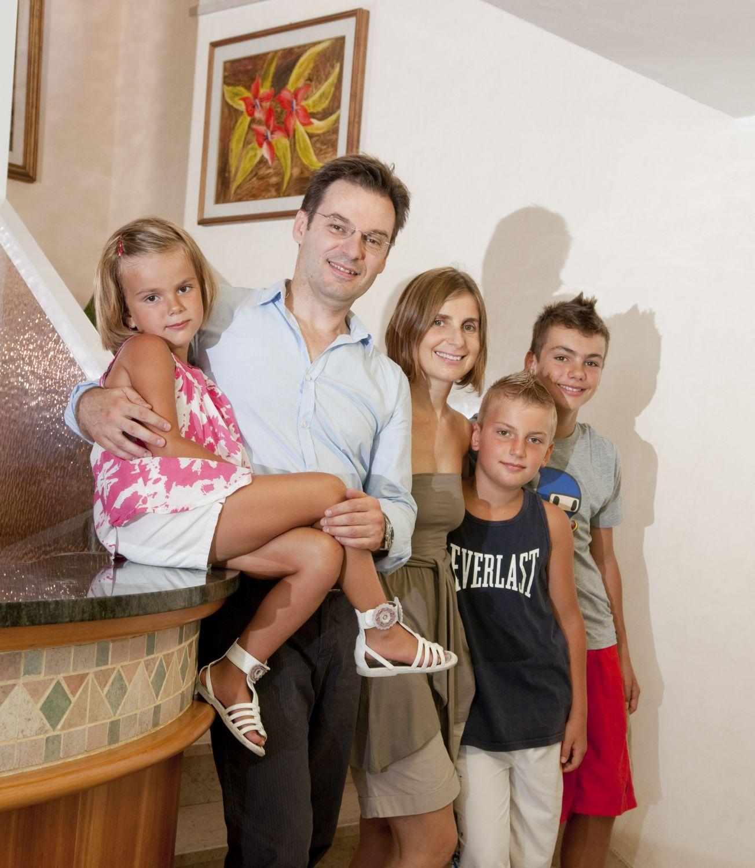 famiglia Ferrari Hotel Nelson Rimini