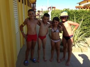 Durante il Miniclub all'hotel City di Rimini, nascono nuove amicizie!