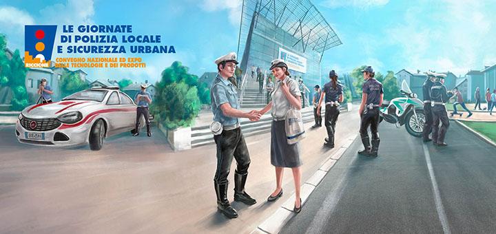 Le giornate della polizia locale si terranno dal 19 al 21 settembre a Riccione, presso il palazzo del turismo!