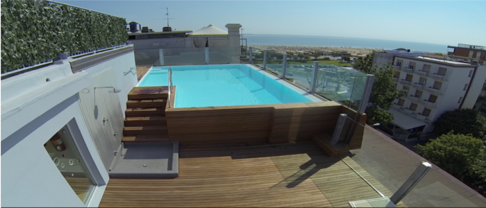 Hotel with Swimming pool in Rimini All-inclusive packages and all-inclusive Rimini Heated Pool