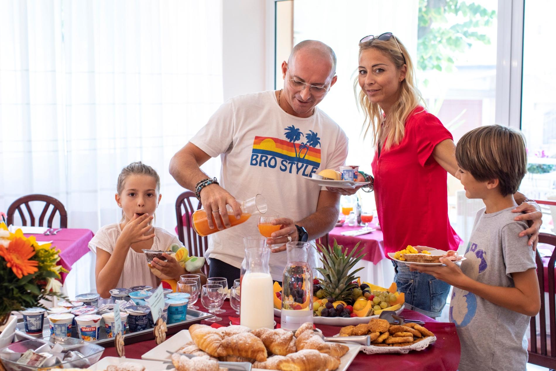 Novità 2020: una colazione tutta nuova, </br> ancora più ricca, ancora più gustosa!